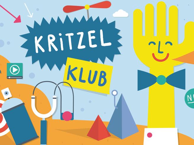 Screenshot vom Kritzel Klub
