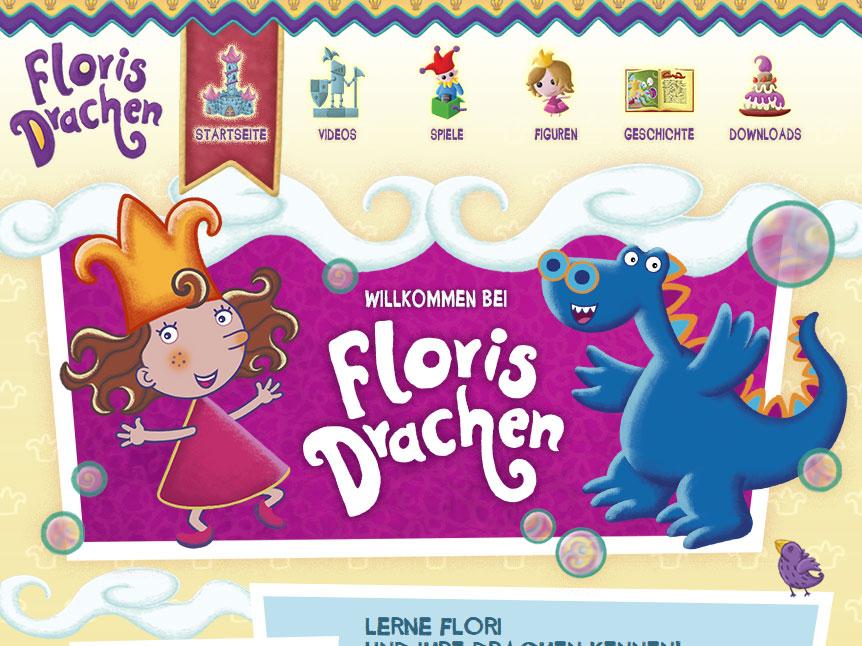 Screenshot von http://www.floris-drachen.de/