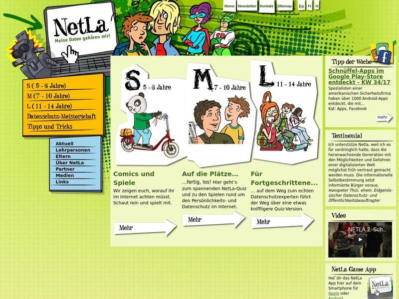 Screenshot von http://netla.ch/