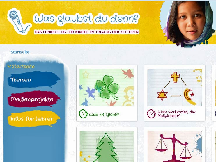 Screenshot von http://www.kinderfunkkolleg-trialog.de/